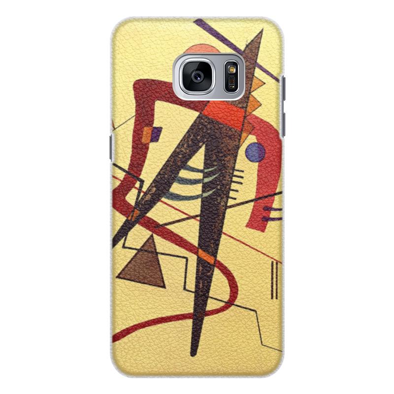 Чехол для Samsung Galaxy S7 Edge кожаный Printio Тепло (пауль клее) чехол для samsung galaxy s5 printio лесные ведьмы пауль клее