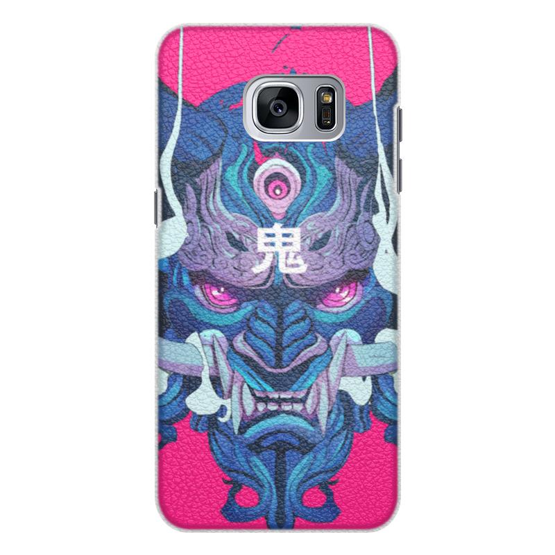 Чехол для Samsung Galaxy S7 Edge кожаный Printio Dragon чехол для samsung galaxy s7 edge кожаный printio вершина