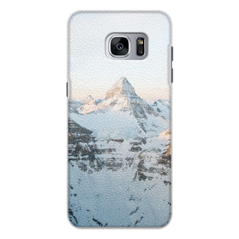 Чехол для Samsung Galaxy S7 Edge кожаный Printio Вершина чехол для samsung galaxy s7 edge кожаный printio вершина
