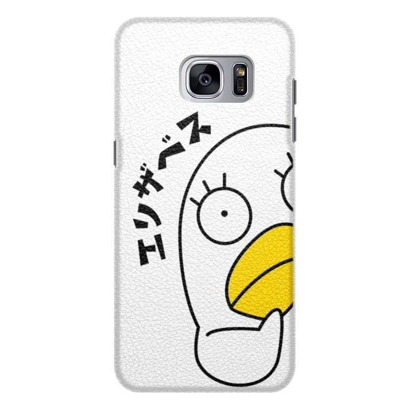 Чехол для Samsung Galaxy S7 Edge кожаный Printio Гинтама. элизабет чехол для samsung galaxy s7 edge кожаный printio гинтама