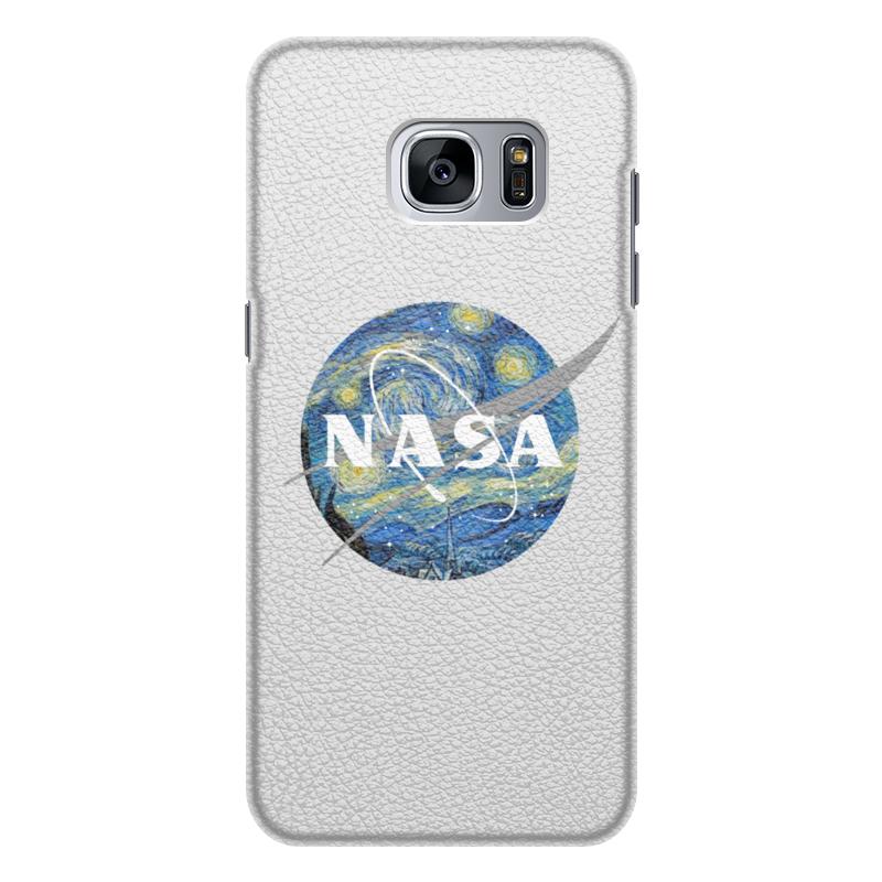 Чехол для Samsung Galaxy S7 Edge кожаный Printio /nasa чехол для samsung galaxy s7 edge кожаный printio знаки