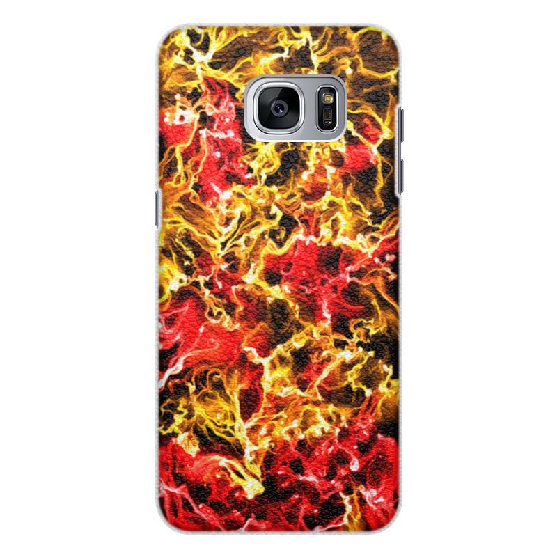 Чехол для Samsung Galaxy S7 Edge кожаный Printio Имаджинейшн чехол для samsung galaxy s7 edge кожаный printio вершина