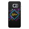 """Чехол для Samsung Galaxy S7 Edge кожаный """"Love Space"""" - звезды, космос, вселенная"""