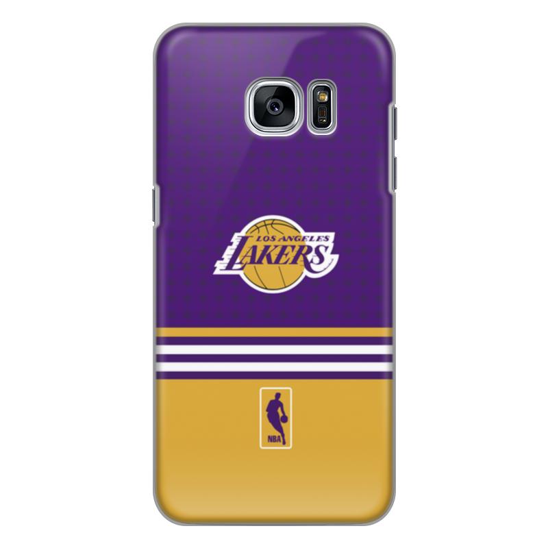 Чехол для Samsung Galaxy S7 Edge силиконовый Printio Lakers case pro баскетбольную форму lakers