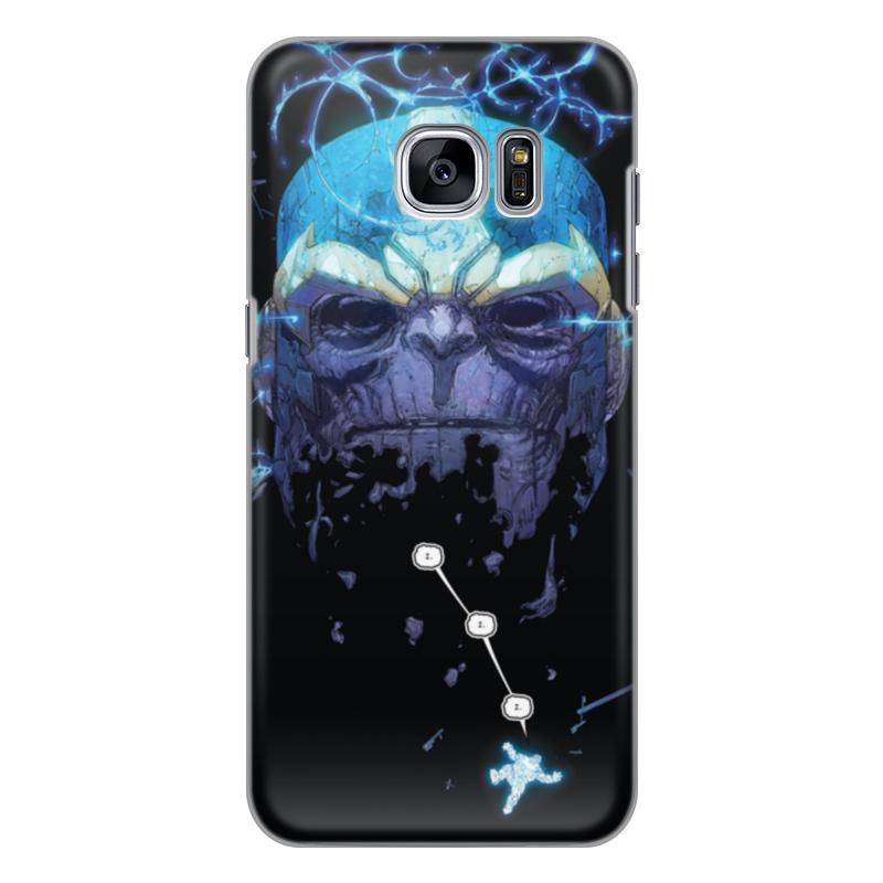 Чехол для Samsung Galaxy S7 Edge силиконовый Printio Танос чехол для samsung galaxy s8 силиконовый printio танос