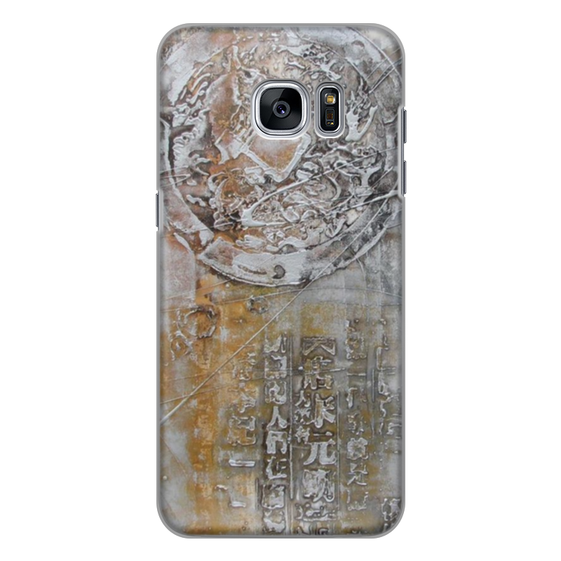 Чехол для Samsung Galaxy S7 Edge силиконовый Printio Знаки чехол для samsung galaxy s7 edge кожаный printio знаки