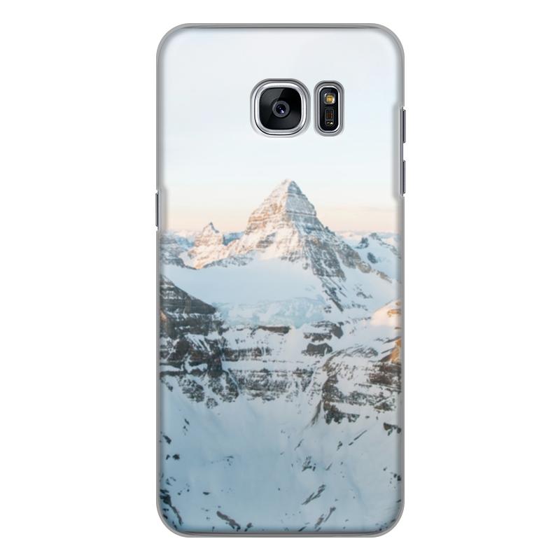 Чехол для Samsung Galaxy S7 Edge силиконовый Printio Вершина чехол для samsung galaxy s7 edge кожаный printio вершина