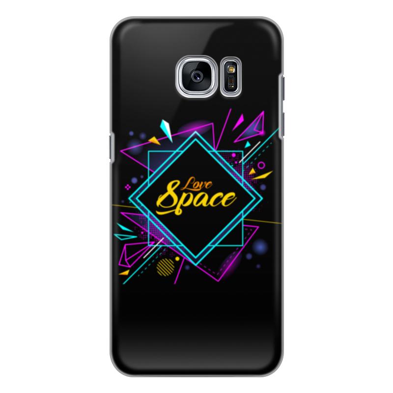 Чехол для Samsung Galaxy S7 Edge силиконовый Printio Love space чехол для samsung galaxy s8 plus силиконовый printio love space