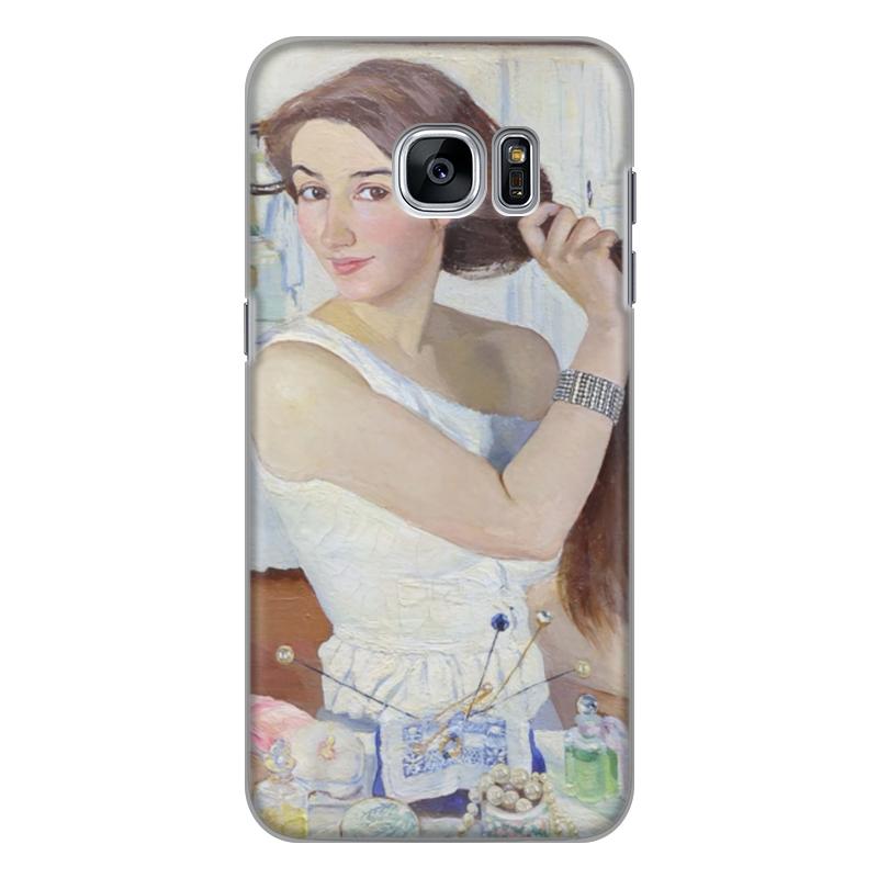 Чехол для Samsung Galaxy S7 Edge силиконовый Printio За туалетом. автопортрет (зинаида серебрякова) юлия серебрякова четвероевангелие