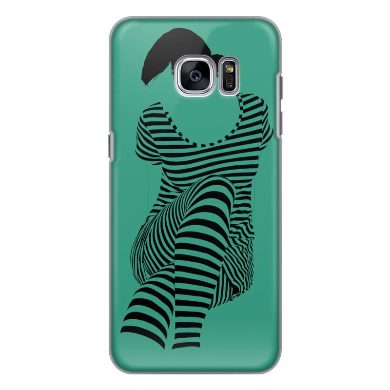 Чехол для Samsung Galaxy S7 Edge силиконовый Printio раздвоение личности акцентуированные личности книгу цена