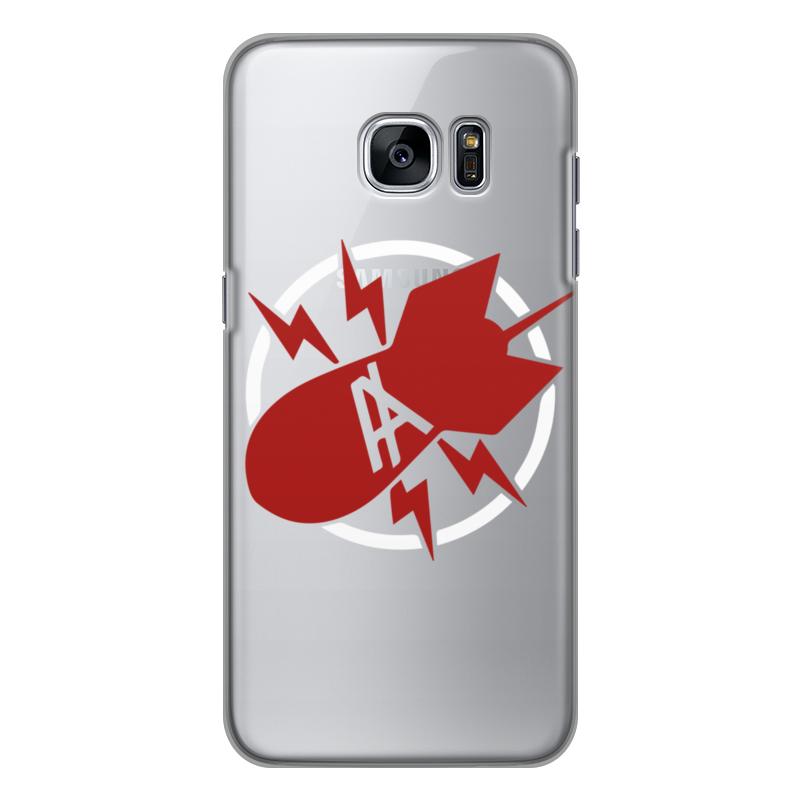 Чехол для Samsung Galaxy S7 Edge силиконовый Printio Антихайп