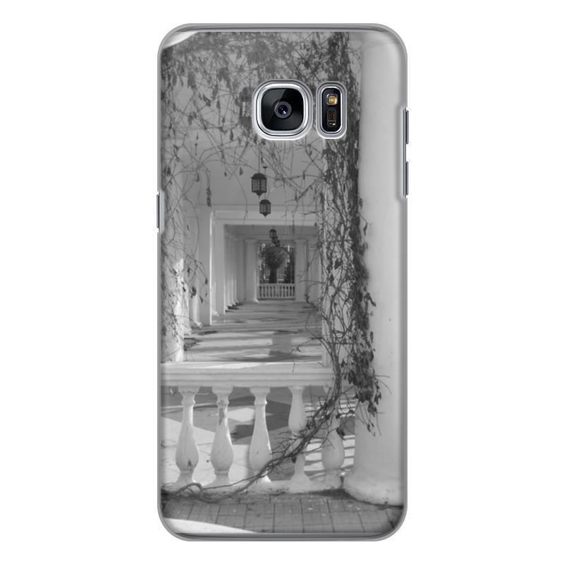 Чехол для Samsung Galaxy S7 Edge силиконовый Printio Осень