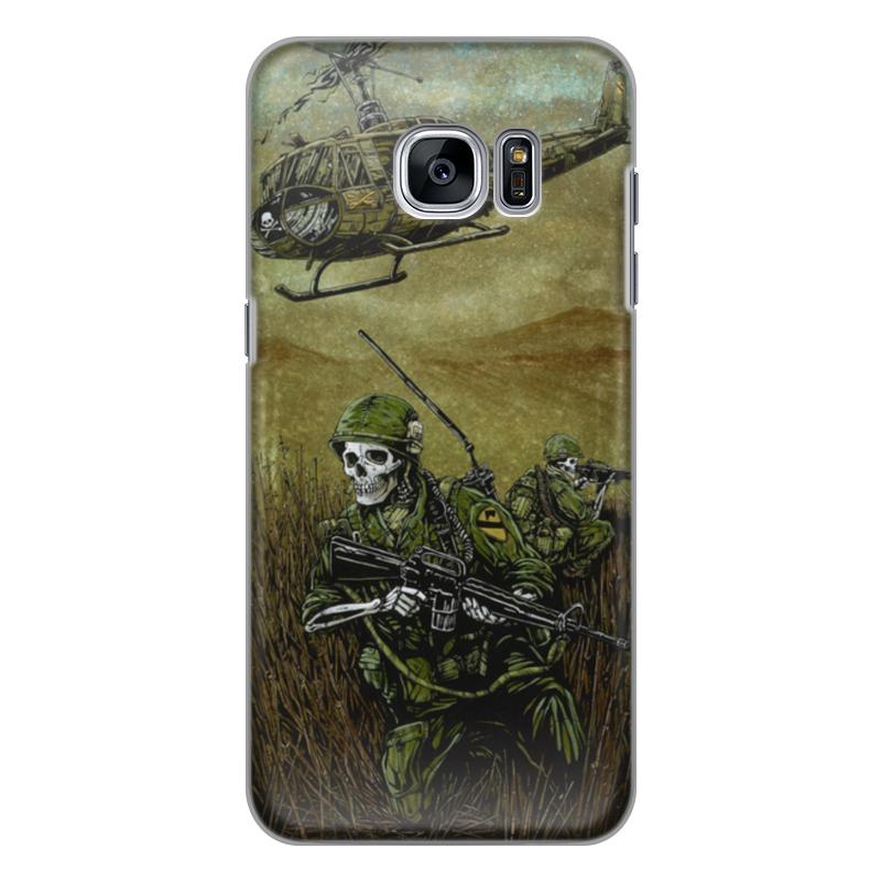 Чехол для Samsung Galaxy S7 Edge силиконовый Printio Война чехол для samsung galaxy s7 edge кожаный printio война