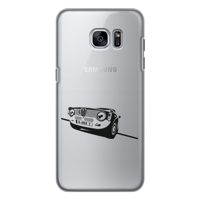 Чехол для Samsung Galaxy S7 Edge силиконовый Printio Retro alfa romeo racing наклейки tony 2 74 alfa romeo mito 147 156 159 166 giulietta gt