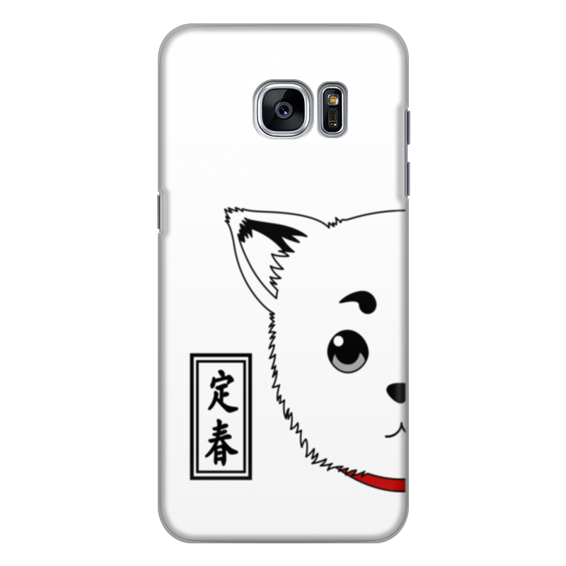 Чехол для Samsung Galaxy S7 Edge силиконовый Printio Гинтама. садахару чехол для samsung galaxy s7 edge кожаный printio гинтама