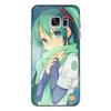 """Чехол для Samsung Galaxy S7 Edge силиконовый """"Miku Hatsune Sush"""" - аниме, hatsune, мику, бесконечное лето, miku"""