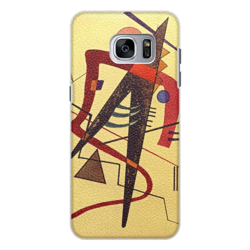 Чехол для Samsung Galaxy S7 кожаный Printio Тепло (пауль клее) чехол для samsung galaxy s5 printio лесные ведьмы пауль клее