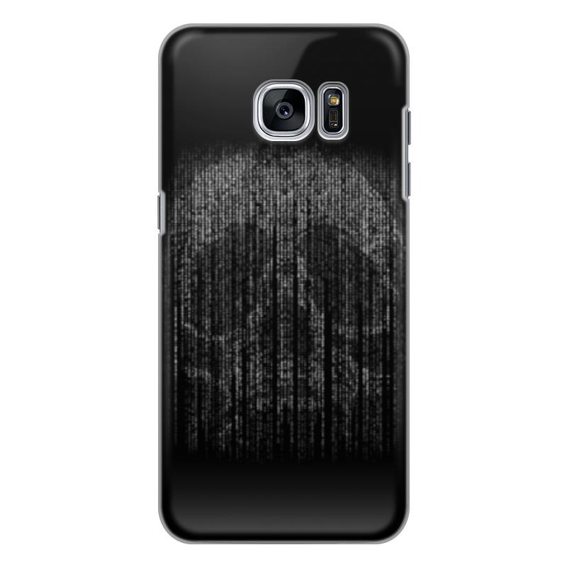 Чехол для Samsung Galaxy S7 силиконовый Printio Голограмма череп чехол для samsung galaxy s5 printio череп художник
