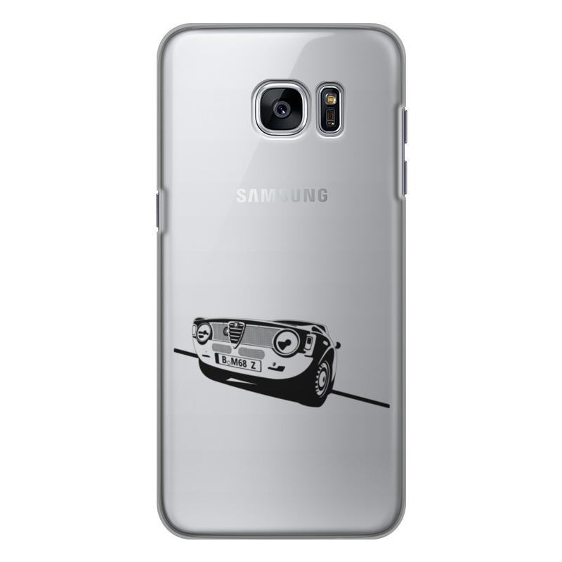 Чехол для Samsung Galaxy S7 силиконовый Printio Retro alfa romeo racing наклейки tony 2 74 alfa romeo mito 147 156 159 166 giulietta gt