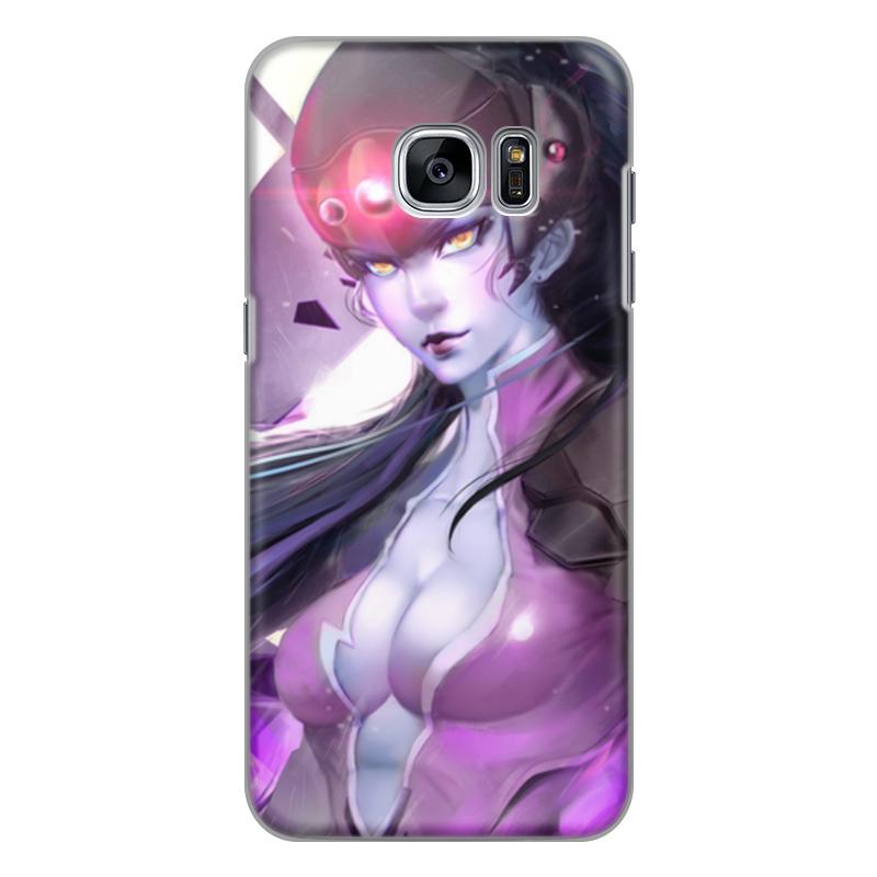 Чехол для Samsung Galaxy S7 силиконовый Printio Overwatch: widowmaker