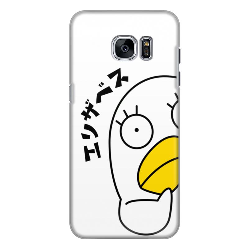Чехол для Samsung Galaxy S7 силиконовый Printio Гинтама. элизабет