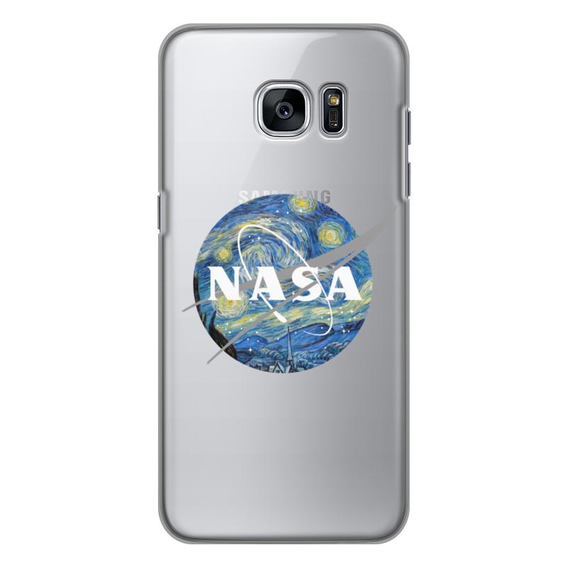 Чехол для Samsung Galaxy S7 силиконовый Printio /nasa чехол для samsung galaxy s8 plus силиконовый printio  nasa