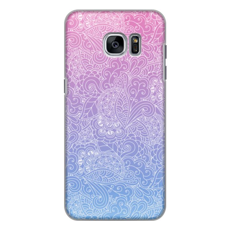 Чехол для Samsung Galaxy S7 силиконовый Printio Градиентный узор
