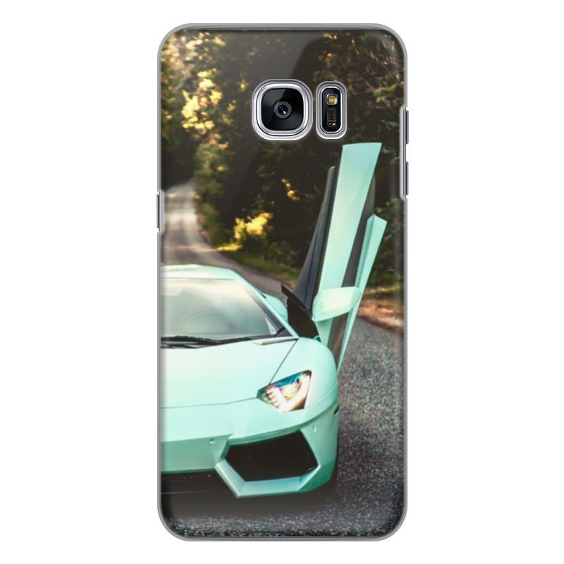 Чехол для Samsung Galaxy S7 силиконовый Printio Lamborghini