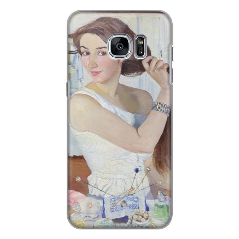 Чехол для Samsung Galaxy S7 силиконовый Printio За туалетом. автопортрет (зинаида серебрякова) юлия серебрякова четвероевангелие