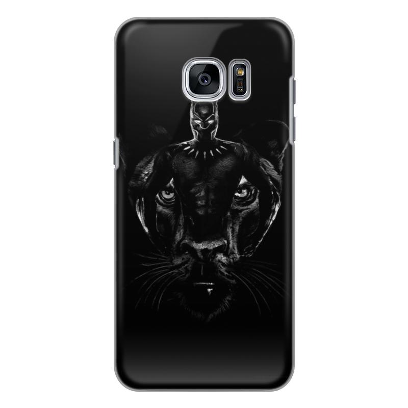 Чехол для Samsung Galaxy S7 силиконовый Printio Черная пантера