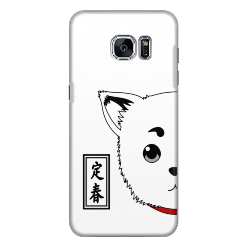 Чехол для Samsung Galaxy S7 силиконовый Printio Гинтама. садахару