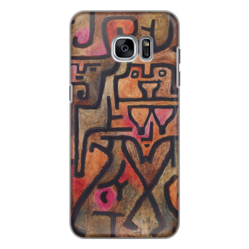 Чехол для Samsung Galaxy S7 силиконовый Printio Лесные ведьмы (пауль клее) чехол для samsung galaxy s5 printio лесные ведьмы пауль клее