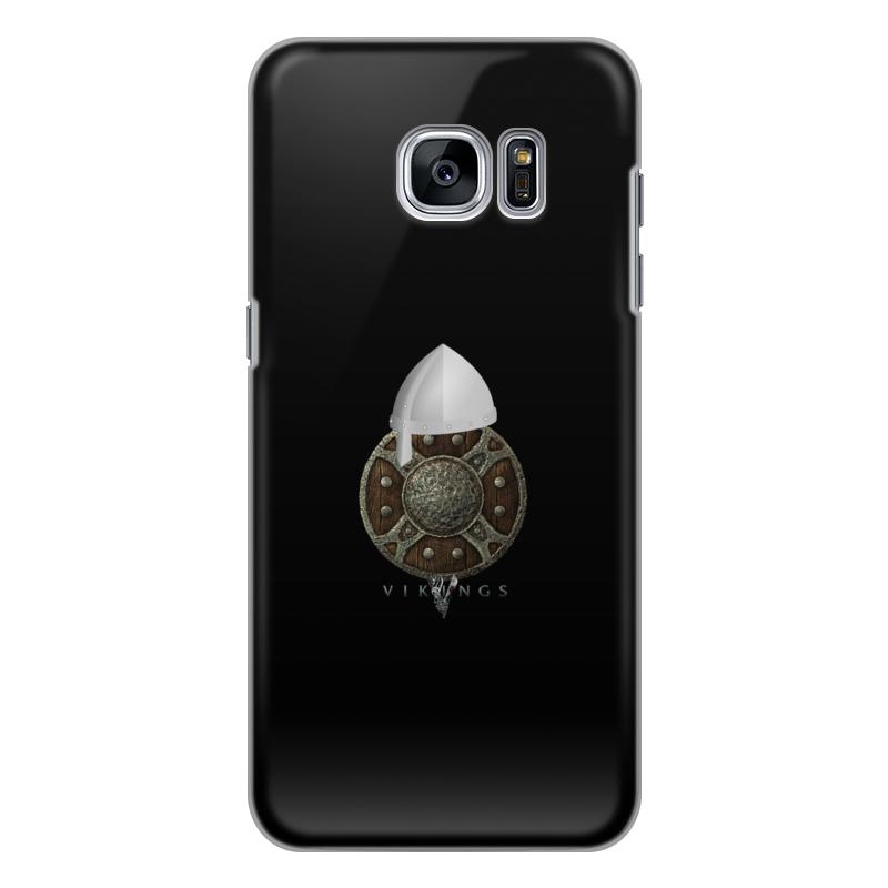 Чехол для Samsung Galaxy S7 силиконовый Printio Викинги. vikings