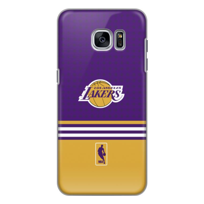 Чехол для Samsung Galaxy S7 силиконовый Printio Lakers case pro баскетбольную форму lakers