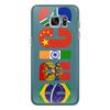 """Чехол для Samsung Galaxy S7 силиконовый """"BRICS - БРИКС"""" - россия, китай, индия, бразилия, юар"""