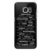 """Чехол для Samsung Galaxy S7 силиконовый """"Манта для настоящих мужчин (черный вариант)"""" - праздник, мужчина, подарок, пожелания, мантра"""