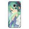 """Чехол для Samsung Galaxy S7 силиконовый """"Miku Hatsune Sush"""" - аниме, hatsune, мику, бесконечное лето, miku"""