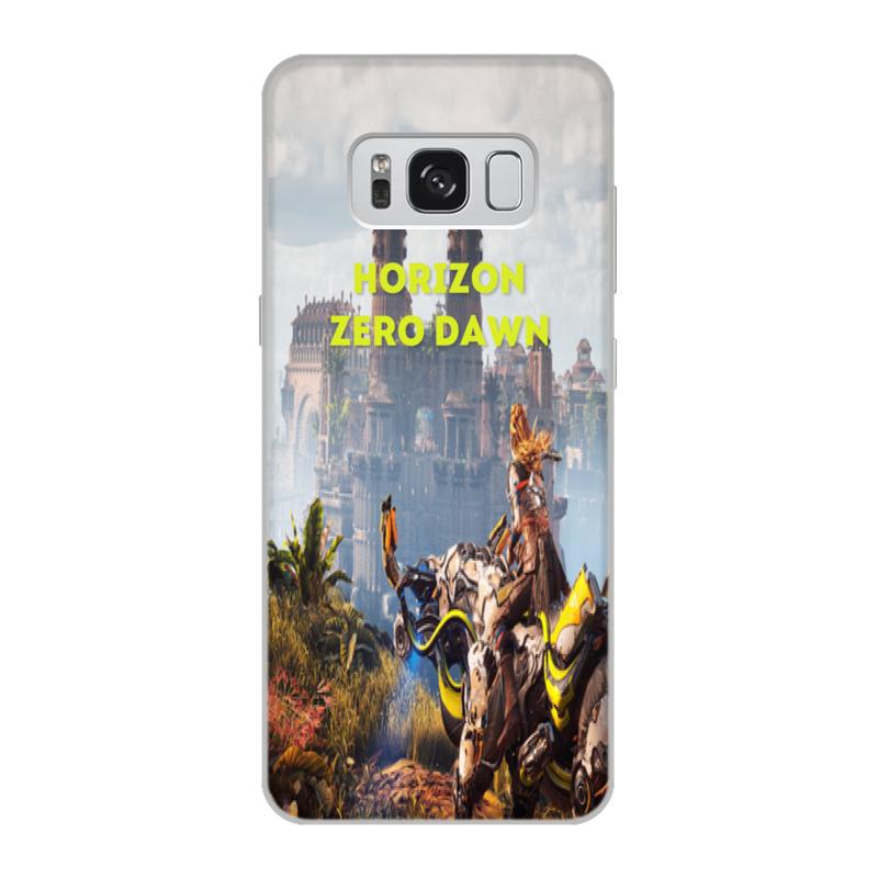 Чехол для Samsung Galaxy S8, объёмная печать Printio Horizon zero dawn чехол для samsung galaxy s8 объёмная печать printio модерн