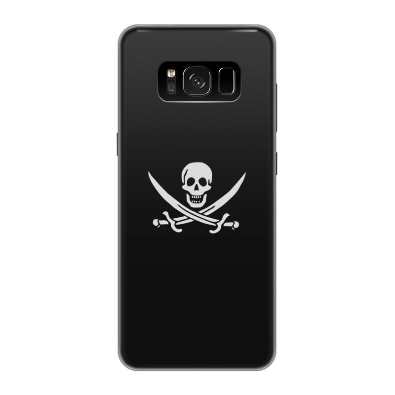 Чехол для Samsung Galaxy S8, объёмная печать Printio Pirate чехол силиконовый последний богатырь для samsung s8