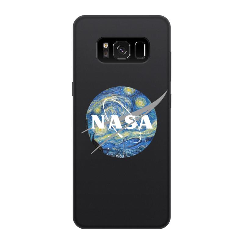 Чехол для Samsung Galaxy S8, объёмная печать Printio /nasa чехол для samsung galaxy s8 plus силиконовый printio  nasa