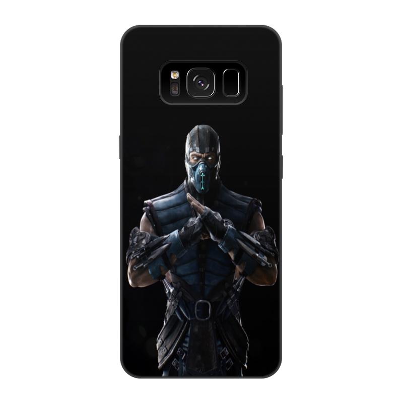 Чехол для Samsung Galaxy S8, объёмная печать Printio Mortal kombat x (sub-zero) чехол для samsung galaxy s6 edge объёмная печать printio mortal kombat x sub zero