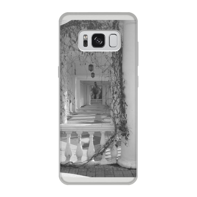 Чехол для Samsung Galaxy S8, объёмная печать Printio Осень чехол для samsung galaxy s8 объёмная печать printio cycles perfecta альфонс муха
