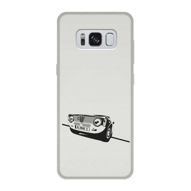 Чехол для Samsung Galaxy S8, объёмная печать Printio Retro alfa romeo racing блокнот на пружине а4 printio retro alfa romeo racing
