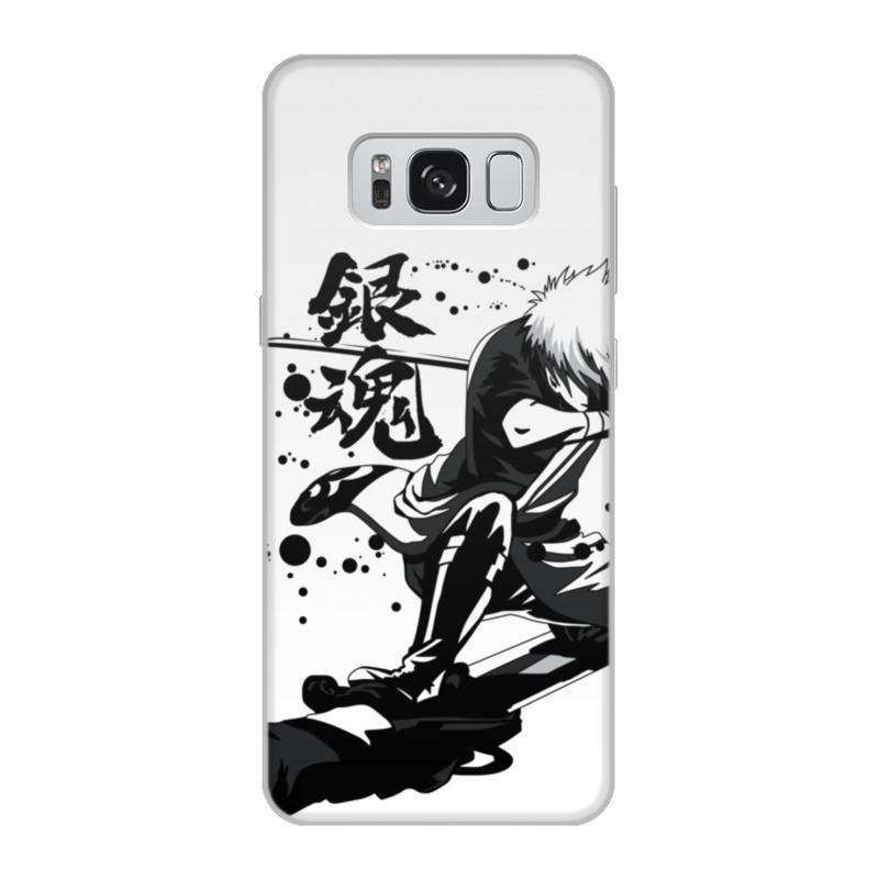Чехол для Samsung Galaxy S8, объёмная печать Printio Гинтама чехол для samsung galaxy s8 объёмная печать printio i love unicorns