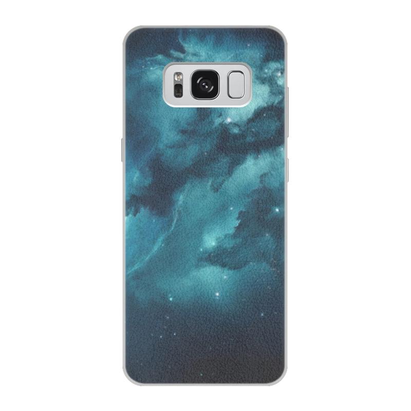 Чехол для Samsung Galaxy S8, объёмная печать Printio Space samsungation чехол для samsung galaxy s4 printio my space