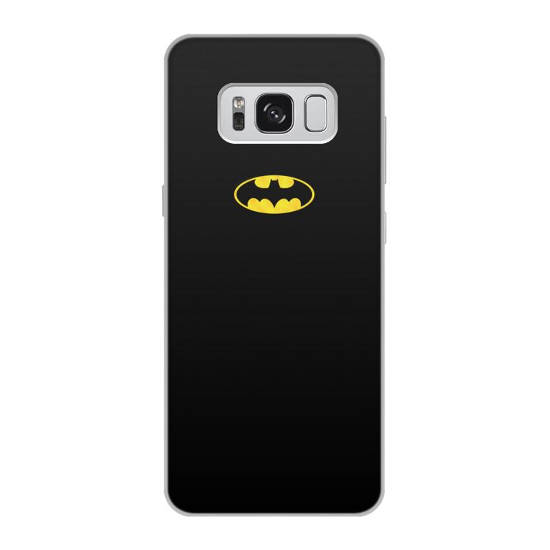 Чехол для Samsung Galaxy S8, объёмная печать Printio Бэтмен / batman чехол для ноутбука 14 printio бэтмен