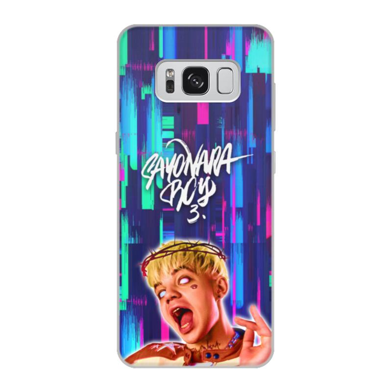 Чехол для Samsung Galaxy S8, объёмная печать Printio Элджей allj цена