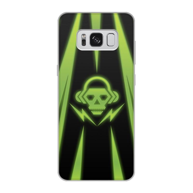 Чехол для Samsung Galaxy S8, объёмная печать Printio Skull чехол для samsung galaxy s5 printio santa muerte skull