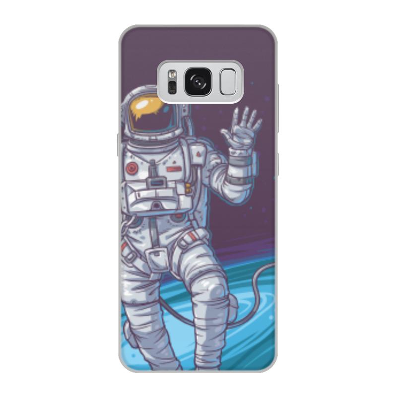 Чехол для Samsung Galaxy S8, объёмная печать Printio Space чехол для samsung galaxy s4 printio my space