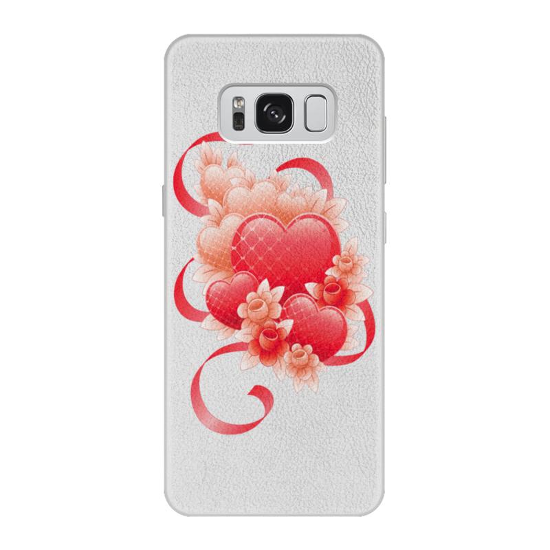 лучшая цена Чехол для Samsung Galaxy S8, объёмная печать Printio Любимой на 14 февраля
